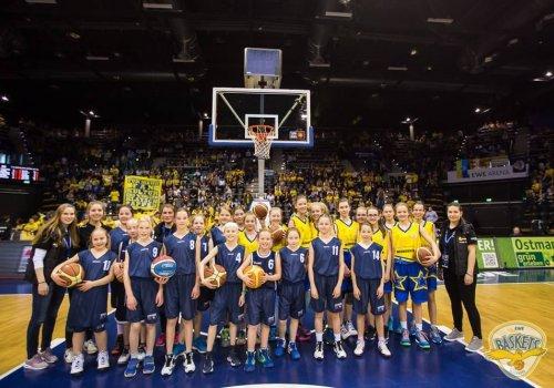 MBO präsentiert Mädchenbasketball bei den EWE Baskets