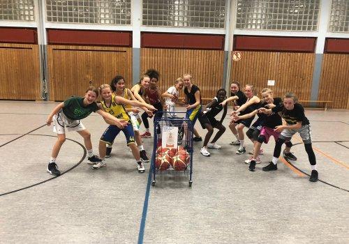 Ballwagen für die Halle Bürgeresch